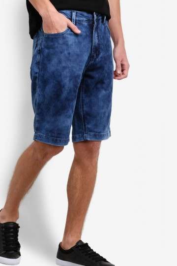 Cloud Wash Tapered Fit Shorts