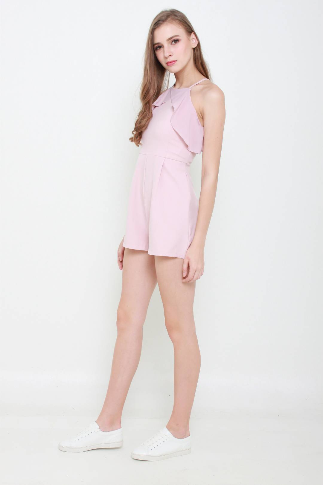 Avery Playsuit (Dusty Pink)