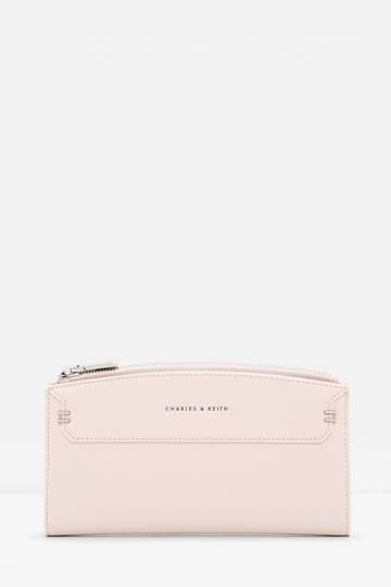 Stitched Outline Long Wallet