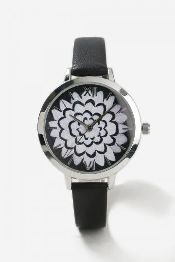 Flower Detail Watch