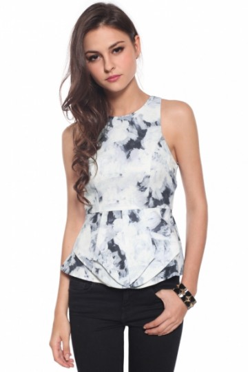 Tishia Peplum Top