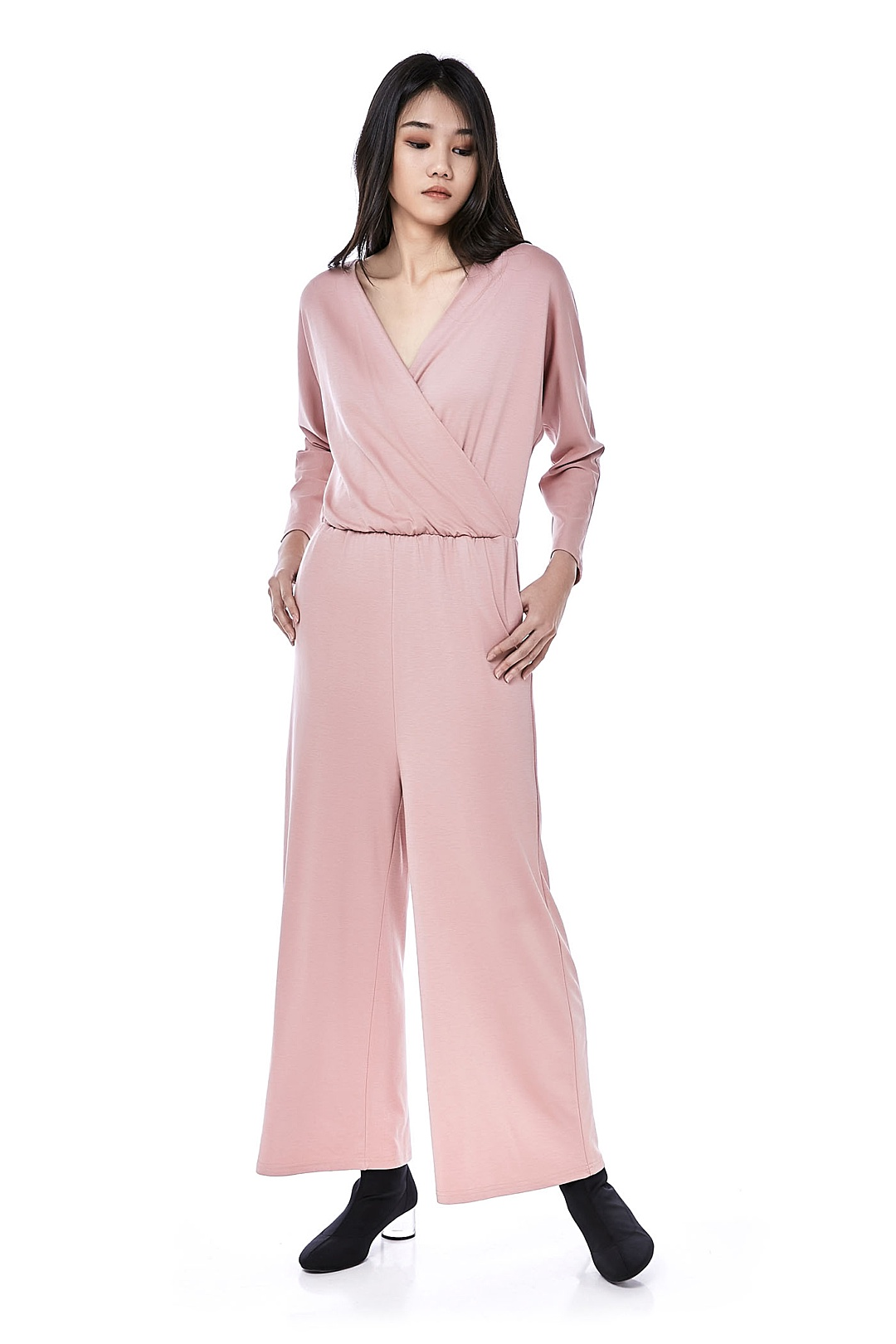 Shirley Cross-Front Jumpsuit