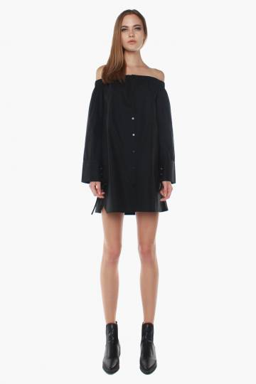 Tighten Up Dress in Black