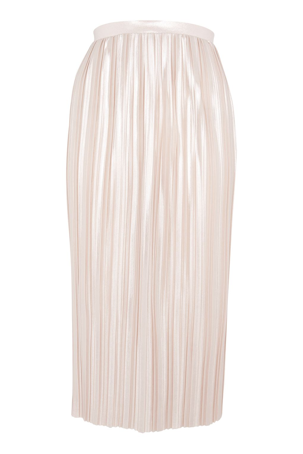 ef5e58706e Metallic Jersey Pleat Skirt - ShopperBoard